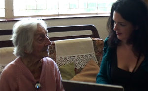 Interviewing Dory at her home, Cape Town, September 2010