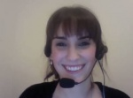 Tash De Agrela,19 (in Adelaide) prepares to interview her father in Cape Town via Skype for his Life Story movie